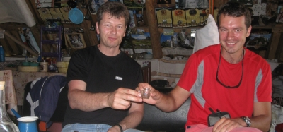 Trekking and jeep tour with an Olympic champion, part 2, July 2011